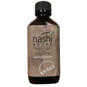 Balsam hidratant pentru toate tipurile de par cu ulei de argan Nashi Argan, 200 ml