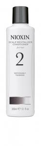 Balsam impotriva caderii parului Nioxin System 2 Scalp Revitaliser, 300 ml