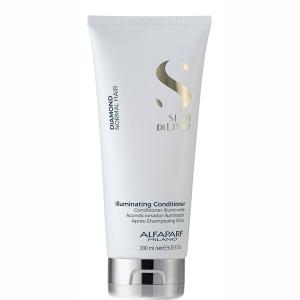 Balsam pentru stralucire fara sulfati Alfaparf Semi di Lino Diamond Illuminating Conditioner, 200 ml1