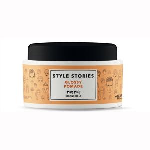 Ceara de par pentru stralucire Alfaparf Style Stories Glossy Pomade, 100 ml