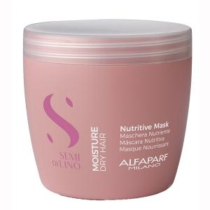Masca pentru hidratare fara sulfati Alfaparf Semi di Lino Moisture Nutritive Mask, 500 ml