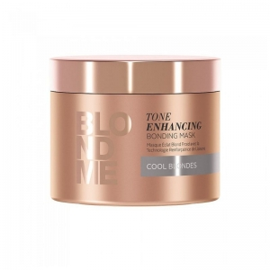 Masca pentru par blond rece Schwarzkopf Blonde Me Enhancing Cool Blondes Mask, 200 ml