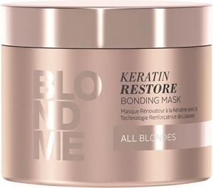 Masca pentru par blond Schwarzkopf Blonde Me Restore Blonding Mask, 200 ml