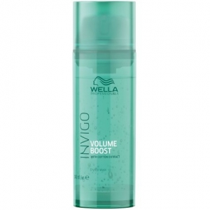 Masca pentru par subtire, fara volum Wella Professionals Invigo Volume Boost Clear Treatment, 145 ml