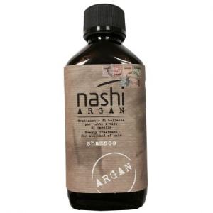 Sampon hidratant pentru toate tipurile de par cu ulei de argan Nashi Argan, 200 ml