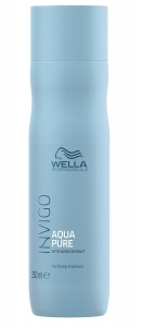 Sampon impotriva excesului de sebum Wella Professionals INVIGO Balance Aqua Pure, 250 ml