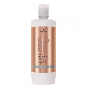 Sampon pentru par blond rece Schwarzkopf Blonde Me Enhancing Cool Blondes Shampoo, 1000 ml