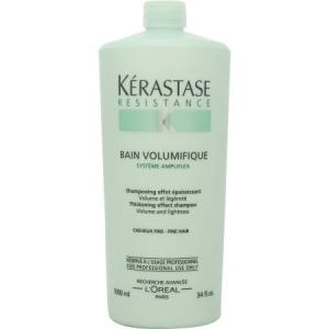 Sampon pentru par cu fir subtire/fara volum Kerastase Resistence Bain Volumifique, 1000 ml