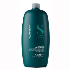 Sampon pentru reconstructie fara sulfati Alfaparf Semi di Lino Reconstruction Reparative Shampoo, 1000 ml