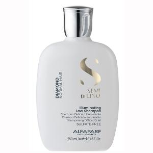 Sampon pentru stralucire fara sulfati Alfaparf Semi di Lino Diamond Illuminating Shampoo, 250 ml