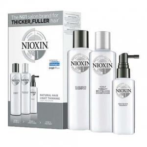 Set impotriva caderii parului Nioxin System 1, 150+150+50 ml