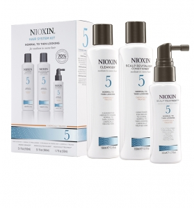Set impotriva caderii parului Nioxin System 5, 150+150+50ml