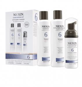Set impotriva caderii parului Nioxin System 6, 150+150+40ml