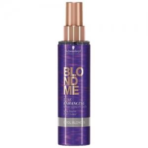 Spray balsam pentru par blond rece Schwarzkopf Blonde Me Enhancing Cool Blondes Spray, 150 ml