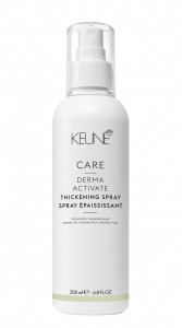 Spray pentru volum fara clatire Keune Care Derma Activate Thickening , 200 ml