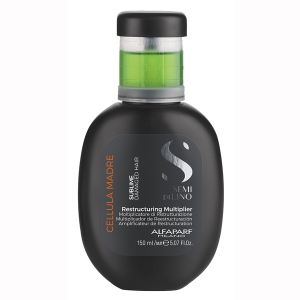 Tratament Multiplicator de restructurare Alfaparf Semi di Lino Sublime Cel Madre Restructuring Multiplier, 150 ml