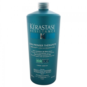 Tratament pentru par degradat Kerastase Resistence Soin Premier Therapiste, 1000 ml