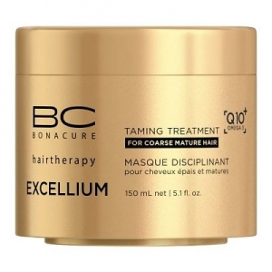 Tratament pentru par matur aspru Schwarzkopf Bonacure Taming Treatment, 150 ml