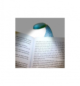 Lampa de carte flexibila blue words
