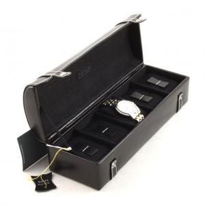 Cutie 5 ceasuri piele naturală By Friedrich seria Collector London Leather - Made in Germany0