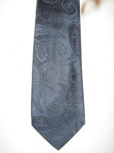 Cravata Luxury Brioni Silk Blue0