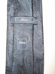 Cravata Luxury Brioni Silk Blue1