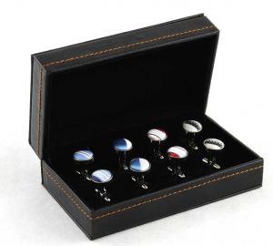 Cutie butoni din piele Luxury Personalizabila0