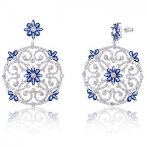 Cercei Borealy Dantelle Secrets D'Orient Blue  & Parfum Amouage Memoir1