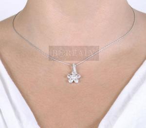 Colier Borealy Diamonds Fleur1