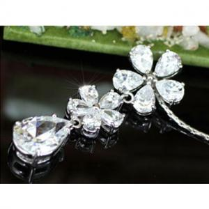 Colier Borealy Diamonds Flowers3