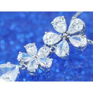Colier Borealy Diamonds Flowers6