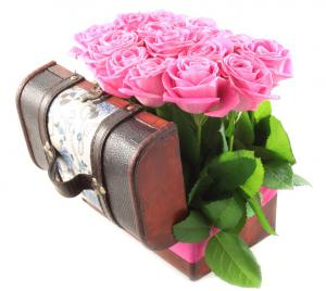 Cufăr 19 Happy Roses & Cercei Roses Studs Borealy3