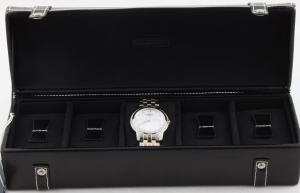 Cutie 5 ceasuri piele naturală By Friedrich seria Collector London Leather - Made in Germany3