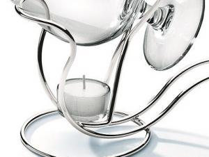 Incalzitor din argint pentru cognac Chinelli1