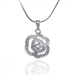 Medalion Borealy Rose White0