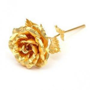 Trandafir Aur 24k & Suport Love4