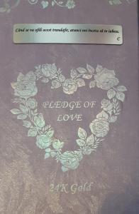 Trandafir Aur 24k & Suport Love6