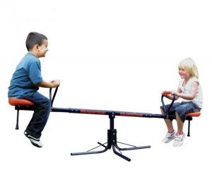 Balansoar simplu din metal MVS pentru copii