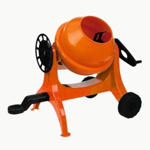 Betoniera Lena 05010 mica din plastic portocalie