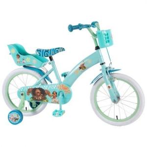 Bicicleta copii Volare Vaiana cu roti ajutatoare 16 INCH