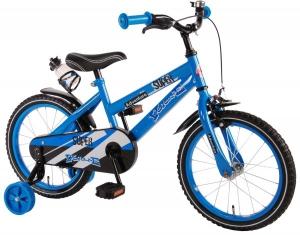Bicicleta pentru baieti 16 inch cu roti ajutatoare Volare Super