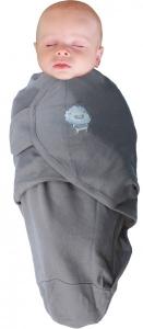 Body special tip Wrap Bo Jungle Leu pentru bebelusi marime L (6.4-10kg) din bumbac