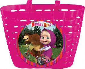 Cos pentru bicicleta copii din plastic Eurasia Masha The Bear