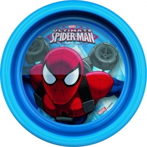 Farfurie adanca pentru copii BBS Spiderman 16cm