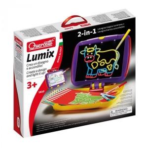 Joc creativ Quercetti Tablita Lumix magnetica luminoasa