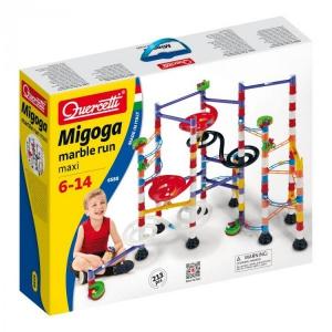 Joc creativitate si indemanare Quercetti Migoga Super Maxi Marble Run Traseu cu 213 piese