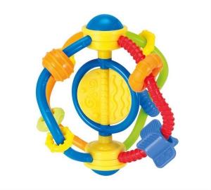 Jucarie dentitie si zornaitoare Spirala Winfun pentru bebelusi