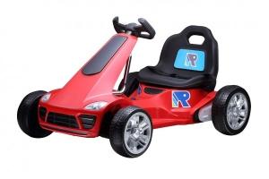 Kart electric pentru copii Trendmax rosu motoare 2x35W