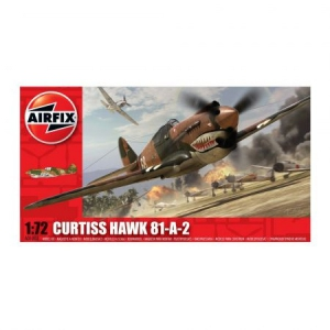 Kit aeromodele Airfix 01003 Avion Curtiss Hawk 81-A-2 Scara 1:72