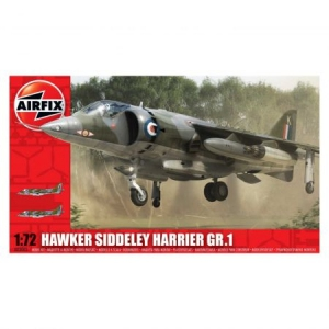 Kit aeromodele Airfix 3003 Avion Hawker Siddeley Harrier GR1 Scara 1:72
